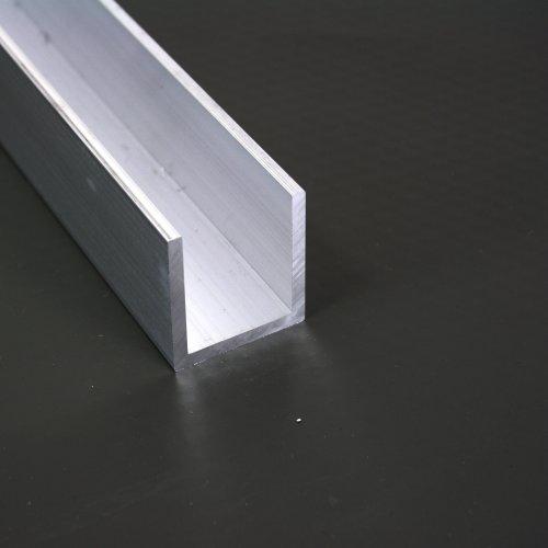 Ordentlich Aluminium U Profil 30mm x 30mm x 30mm x 3mm Alu Schiene 30x30x30x3  SQ66