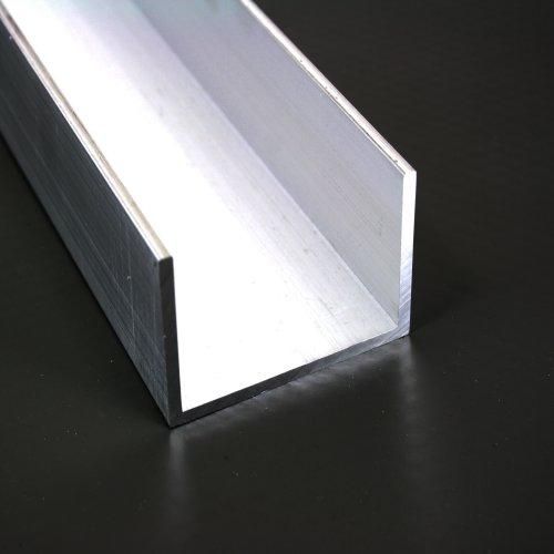 Hervorragend Aluminium U Profil 40mm x 60mm x 40mm x 3mm Alu Schiene 40x60x40x3 TY22
